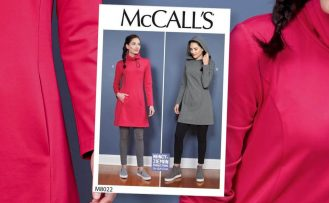 10-20-30 Minutes to Sew McCalls 8022 Tunic on Stitch it Sisters Program 114