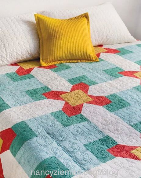 Cabin Fever Quilts as seen on the TV Show Sewing With Nancy on PBS with Nancy Zieman and Guest Natalia Bonner.