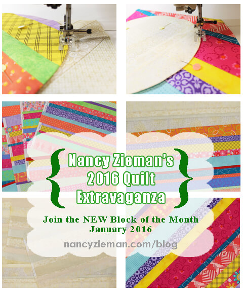 2016 Quilt Extravaganza by Nancy Zieman