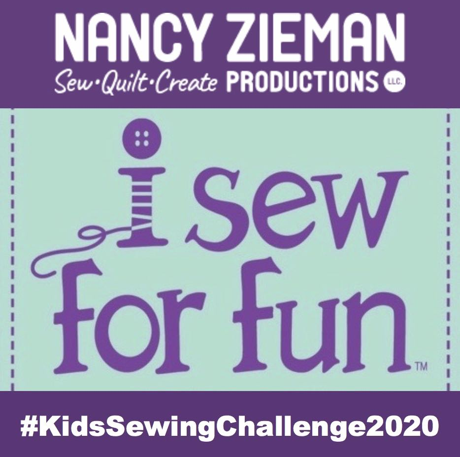 2020 I Sew for Fun Kids' Sewing Challenge