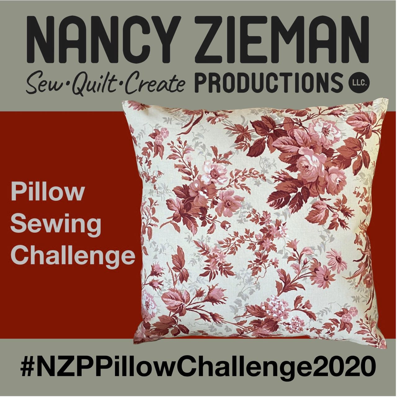 2020 NZP Pillow Sewing Challenge