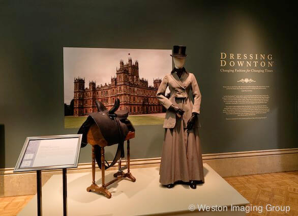 Dressing Downton, Patin Art Center, Nancy Zieman Blog, Photo courtesy of Weston Imaging Group