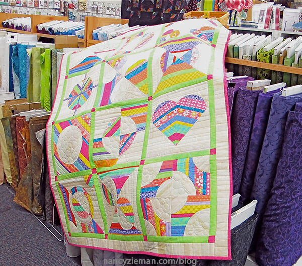 Block of The Month 2016 Nancy Zieman