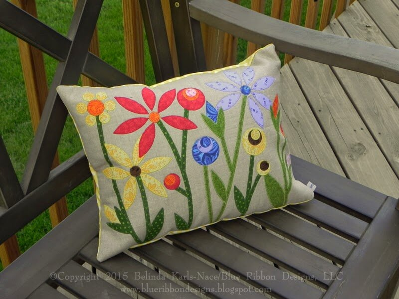 Blooming Beauty | Winner | 2015 Nancy Zieman Pillow Challenge