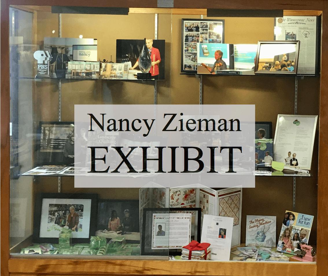 Nancy Zieman Exhibit on Display in Winneconne Wis Summer 2019