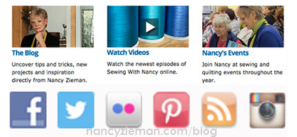 Connect With Nancy Zieman First