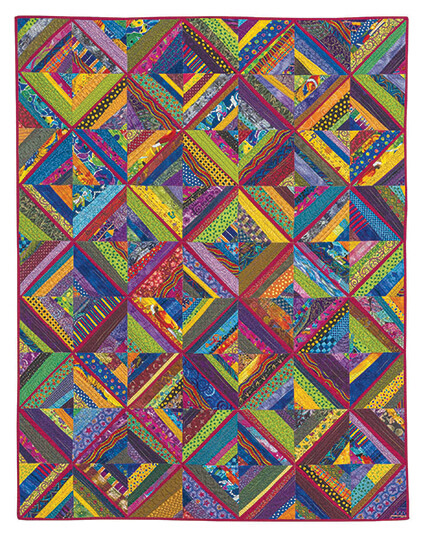 Every Last Piece by Lynn Harris | Sewing With Nancy | Nancy Zieman | Scrap Quilting