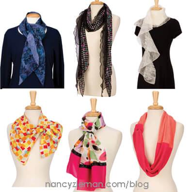 FavoriteScarves 2 NancyZieman First 1