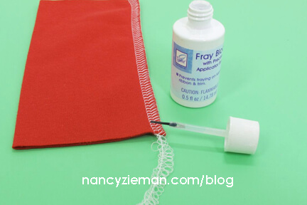 Learn to Sew the Absolute Easiest Way to Finish Seams by Nancy Zieman | Sewing With Nancy