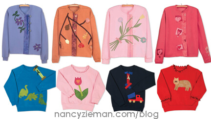 Best Sweatshirt Makeovers by Mary Mulari and Nancy Zieman | Sewing With Nancy