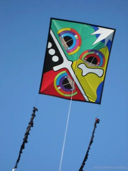 How to sew kites with Paul Fieber as seen on Sewing With Nancy