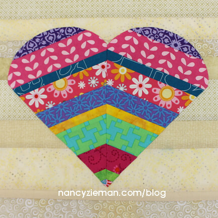 GreatFullHeart NancyZieman Block