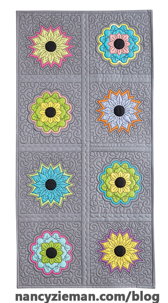 Quilt with an Embroidery Machine in 8 Easy Lessons by Nancy Zieman and Eileen Roche on Sewing With Nancy
