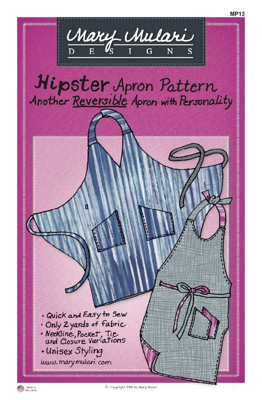 Mary Mulary Hipster Apron Pattern