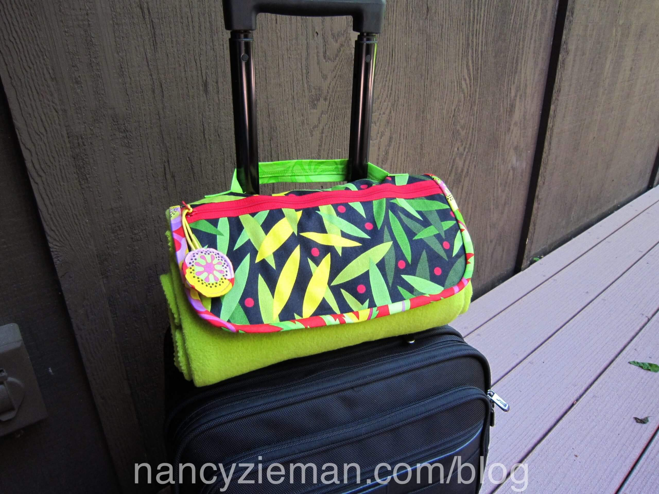 Travel Gear Made Easy by Mary Mulari on Sewing With Nancy