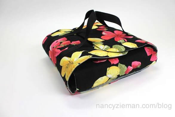 Nancy Zieman How to Sew a Potluck Carrier