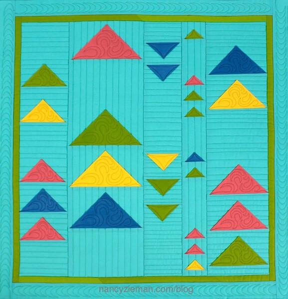 Quilt Expo Modern Mini Quilt Challenge, 2017, Quilt Expo, Nancy Zieman