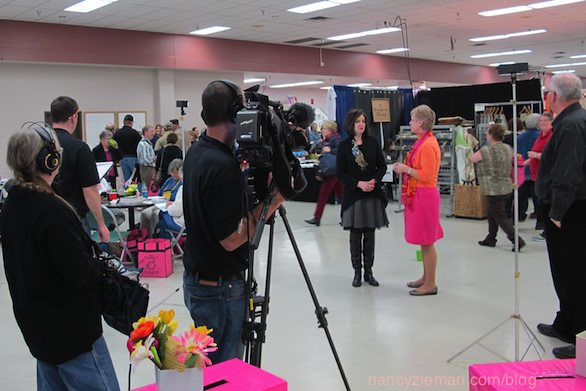 Sewing With Nancy with Host Nancy Zieman at the Sewing & Stitchery Expo in Puyallup WA