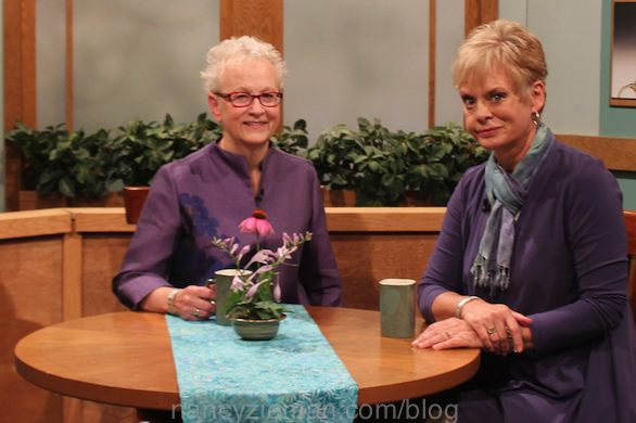 Nancy Zieman and Guest Mary Mulari Sew Gifs-Make Memories on Sewing With Nancy