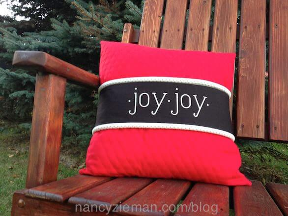How To Make A Pillow Band Wrap by Nancy Zieman