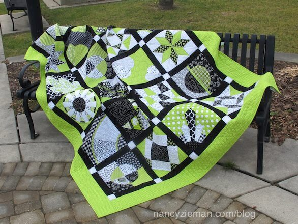2015 Block of the Month Quilt by Nancy Zieman