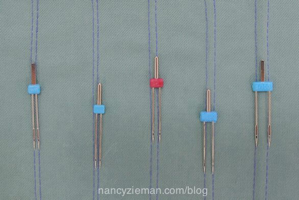 How to sew with double needles/twin needles Nancy Zieman