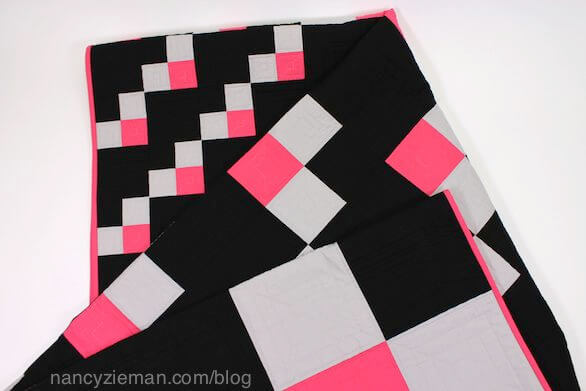 How to make a 4-patch quilt block, Nancy Zieman, Change up Patchwork.