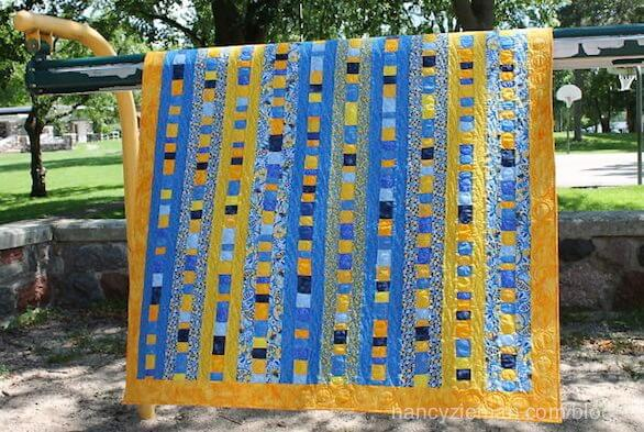 Quilt to Give by Nancy Zieman. How to make a speedy, yet attractive quilt to give to those in need.