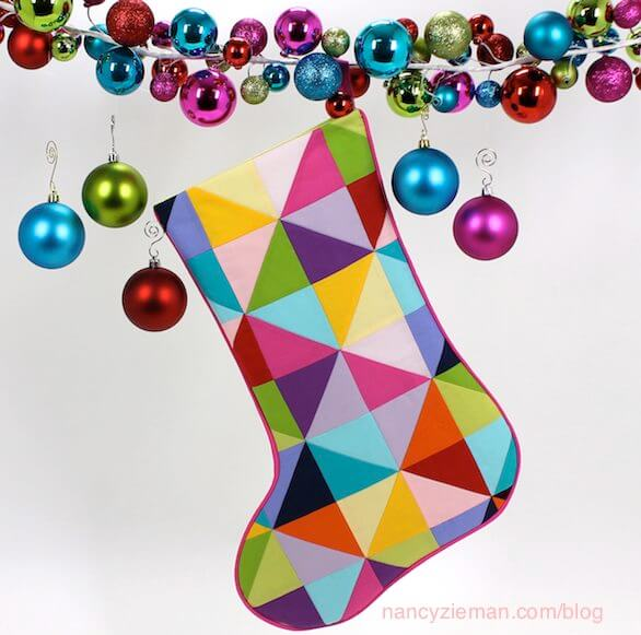 Nancy Zieman's Christmas Stocking Sewing Challenge