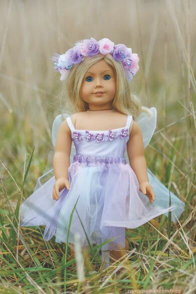 Doll Costume Dress Up book, Learn to sew doll costumes. Sewing With Nancy Zieman