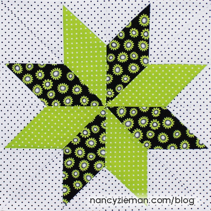 Lone Star Block BOM May Nancy ZiemanFinishedW