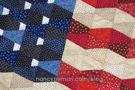 Nancy Zieman Linda Coon Tumbler Quilt First