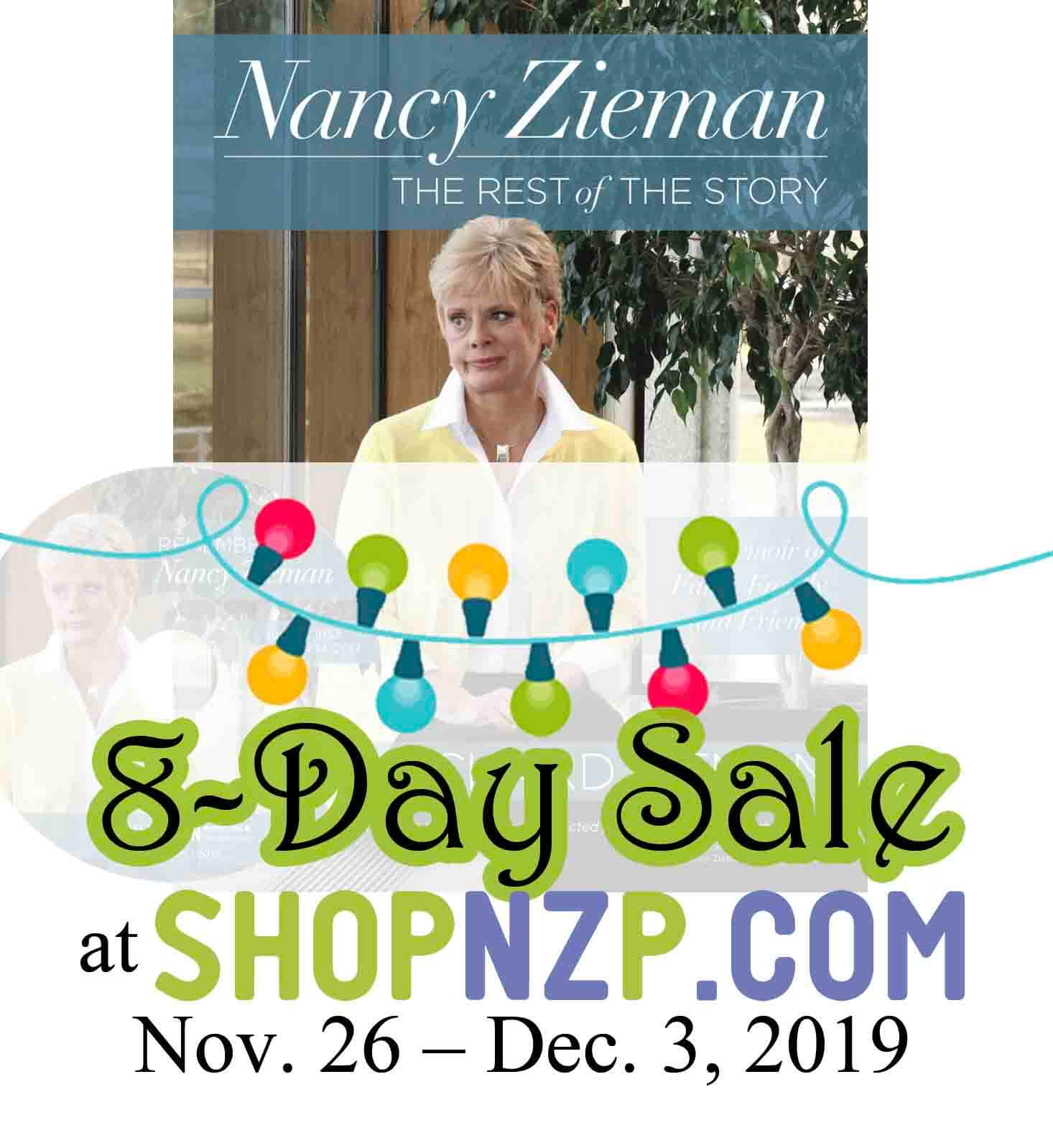Nancy Zieman - the Rest of the Story a Memoir of Faith Family and Friends Book by Richard Zieman