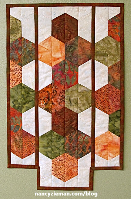 How to Make a Prairie Style Quilted Wall Hanging by Nancy Zieman