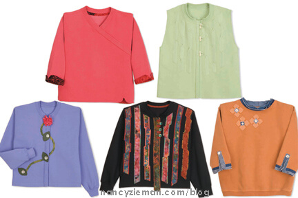 Best Sweatshirt Makeovers, Nancy Zieman Mary Mulari, Sewing With Nancy