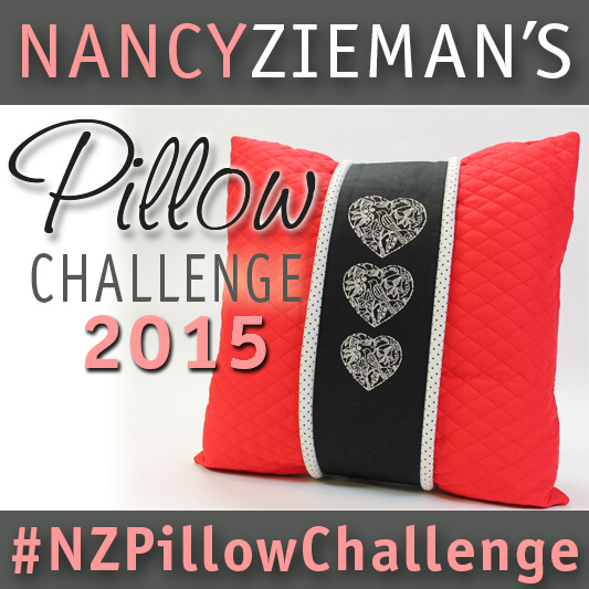 Nancy Zieman's 2015 Pillow Sewing Challenge