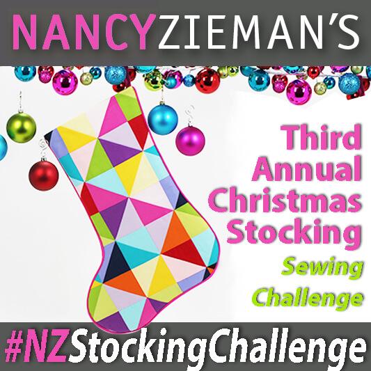 Nancy Zieman Stocking Challenge Badge