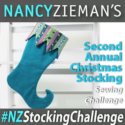 Nancy Zieman's 2015 Christmas Stocking Sewing Challenge. Learn how to sew a Christmas Stocking, then enter Nancy Zieman's Sewing Challenge.