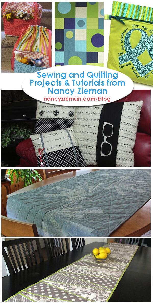 Sewing And Quilting Project Round Up by Nancy Zieman | Sewing With Nancy