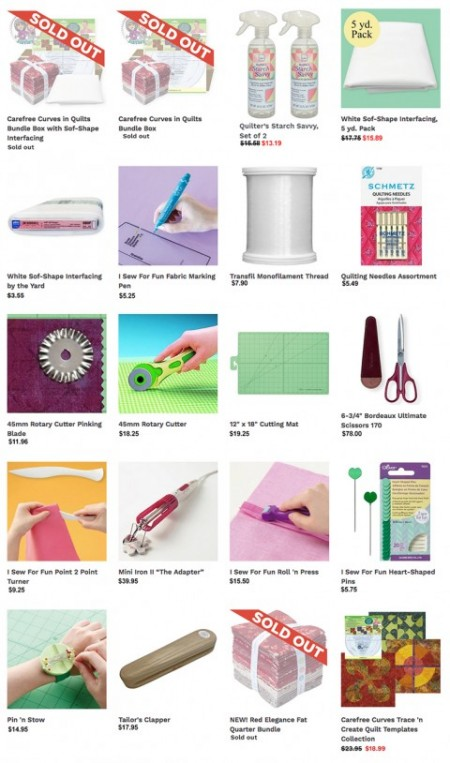 Purchase Quilt Supplies at Nancy Zieman Productions at ShopNZP.com