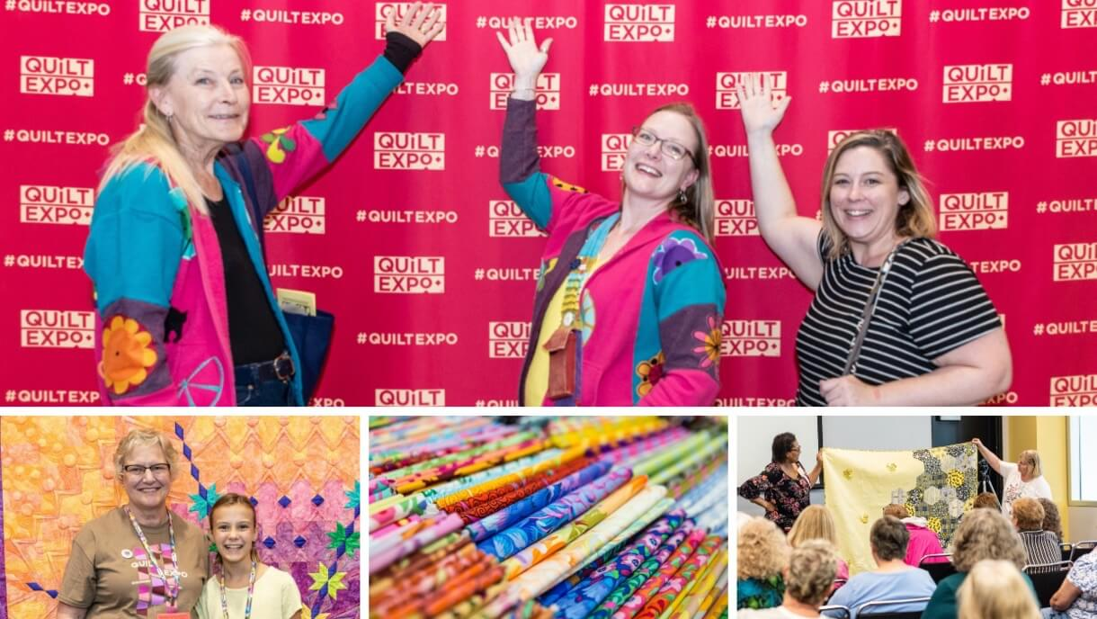 Quilt Expo Celebrates 15 Years of Quilting Fun This September 5-7, 2019 in Madison Wisconsin