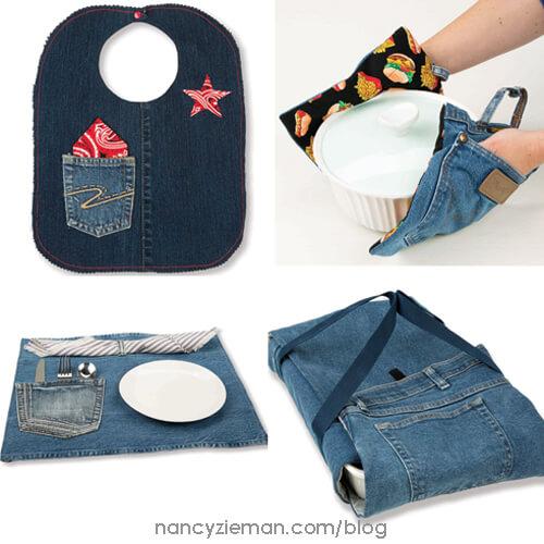 Recycled Demin Nancy Zieman