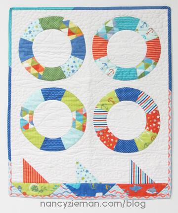 Sailing Quilt Nancy Zieman Cover