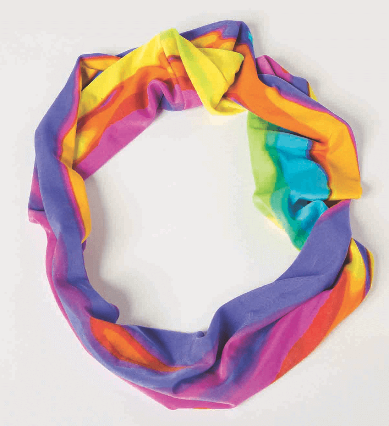 FREE! I Sew For Fun Infinity Scarf Sewing Tutorial at the Nancy Zieman Productions Blog