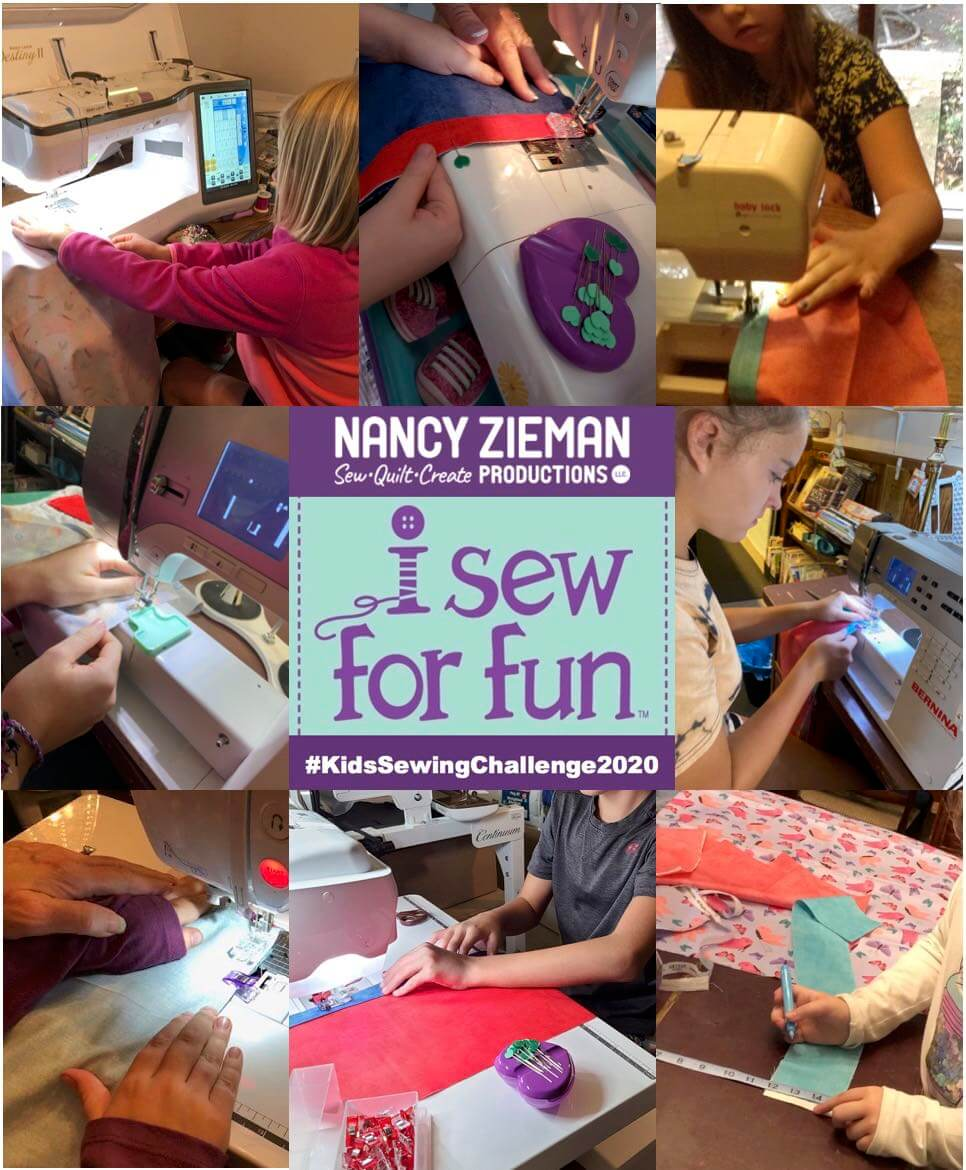 I Sew For Fun Kids' Sewing Challenge 2020 Winners Announced