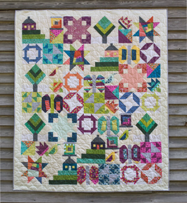 Sew Hometown Sample by Amy Ellis