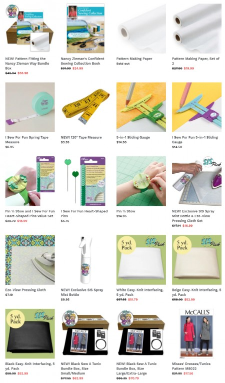 Shop Pattern Fitting Supplies and Bundle Boxes at ShopNZP.com!