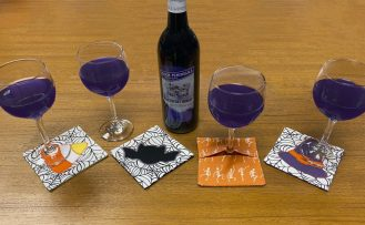 Spooky Fun Halloween Appliqued Palette Coaster Sewing Tutorial at the Nancy Zieman Productions Blog