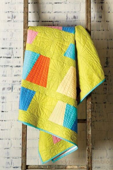 Quick Column Quilts by Nancy Zieman Tumbling Tumblers