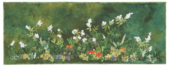 Beginning landscape Quilting Natalie Sewell/Nancy Zieman/Summer Flowers by Natalie Sewell